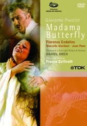 Album artwork for PUCCINI : MADAMA BUTTERFLY
