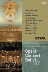 Album artwork for THE BEST OF CLASSICAL MUSIC ON TDK: OPERA, CONCERT
