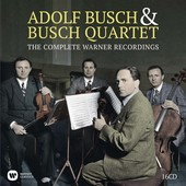Album artwork for COMPLETE WARNER RECORDINGS / Busch Quartet