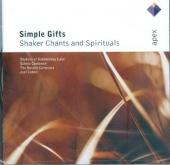 Album artwork for SIMPLE GIFTS: SHAKER CHANTS AN