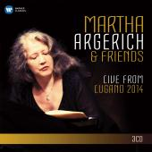 Album artwork for Martha Argerich & Friends: Live from Lugano 2014