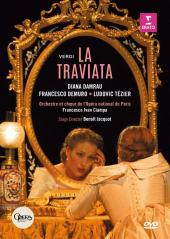 Album artwork for Verdi: La TRAVIATA (BLURAY) / Damrau