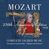 Album artwork for MOZART: THE COMPLETE SACRED MUSIC