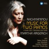 Album artwork for Rachmaninov: Works for 2 Pianos / Argerich