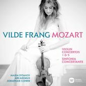 Album artwork for Mozart: Violin Concertos 1 & 5 / Frang