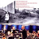 Album artwork for LIVE IN RAMALLAH: BEETHOVEN SYMPHONY NO. 5 / MOZAR
