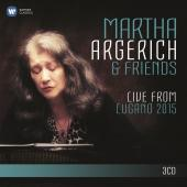 Album artwork for Martha Argerich - Live from Lugano 2015