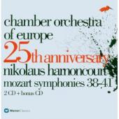 Album artwork for CHAMBER ORCHESTRA OF EUROPE 25TH ANNIVERSARY - MOZ