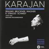 Album artwork for Karajan Conducts Brahms, Bruckner, Wagner...