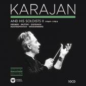 Album artwork for Karajan and his Soloists vol. II