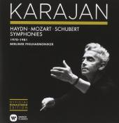 Album artwork for Karajan conducts Haydn, Mozart, Schubert