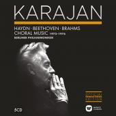 Album artwork for Karajan Conducts Choral works 1972-1976