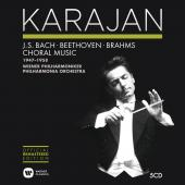Album artwork for Karajan Edition: Choral Music of Bach, Beethoven,