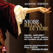 Album artwork for Steffani: Niobe, Regina di Tebe / Jaroussky
