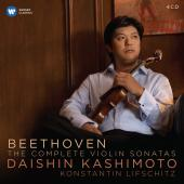 Album artwork for Beethoven: Complete Violin Sonatas / Kashimoto