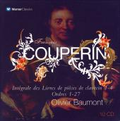 Album artwork for COUPERIN: COMPLETE WORKS HARPSICHORD