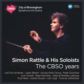 Album artwork for Simon Rattle & his Soloists - The CBSO years