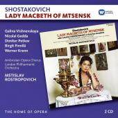 Album artwork for Shostakovich: Lady Macbeth of Mtsensk