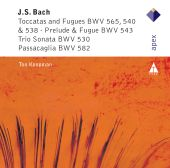 Album artwork for J.S. Bach: Toccatas & Fugues / Koopman