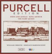 Album artwork for Purcell Edition vol.1: Dido & Aeneas, King Arthur,