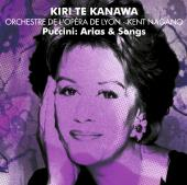 Album artwork for Puccini:  Arias & Songs / Kiri Te Kanawa