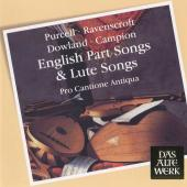 Album artwork for English Part Songs and Lute Songs : Pro Cantione A