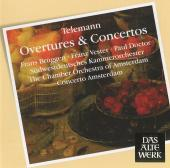 Album artwork for OVERTURES & CONCERTOS