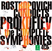 Album artwork for Prokofiev: Complete Symphonies / Rostropovich