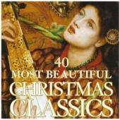 Album artwork for 40 MOST BEAUTIFUL CHRISTMAS CL