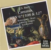 Album artwork for CANTATAS BWV 67, 108, 127