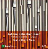 Album artwork for J.S. Bach : Complete Works for Organ (M-C Alain)