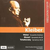 Album artwork for E. Kleiber conducts Weber, Mozart, & Tchaikovsky