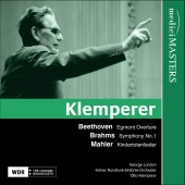 Album artwork for Klemperer conducts Beethoven, Mahler & Brahms