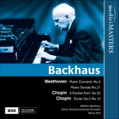 Album artwork for BACKHAUS PLAYS BEETHOVEN & CHOPIN