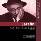 Album artwork for SERAFIN CONDUCTS OVERTURES AND PRELUDES