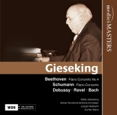 Album artwork for Gieseking: Beethoven / Schumann Piano Works