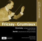 Album artwork for FRICSAY-GRUMIAUX: STRAVINSKY