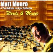 Album artwork for Matt Monro: Words & Music