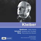 Album artwork for E. Kleiber conducts Beethoven, Schubert, & Berg