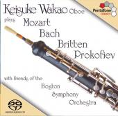 Album artwork for BACH, MOZART, BRITTEN & PROKOFIEV WORKS FOR OBOE
