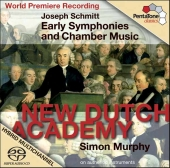 Album artwork for Schmitt: EARLY SYMPHONIES & CHAMBER MUSIC