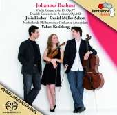 Album artwork for Brahms: Violin Concerto, Double Concerto / Fischer