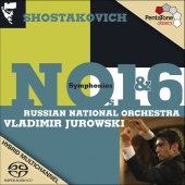 Album artwork for SHOSTAKOVICH: SYMPHONIES NOS. 1 & 6