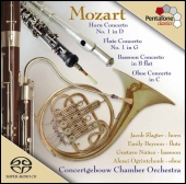 Album artwork for MOZART - WIND CONCERTOS