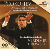 Album artwork for PROKOFIEV: SYMPHONY NO. 5 / ODE TO THE END OF THE