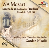 Album artwork for Mozart - serenade in D 'haffner'