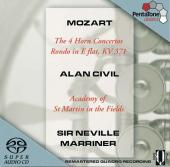 Album artwork for Mozart: 4 HORN CONCERTOS