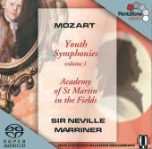 Album artwork for Mozart: YOUTH SYMPHONIES, VOL. 1 /Marriner