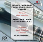 Album artwork for Heinz Holliger: Works for Oboe and Flute