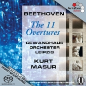 Album artwork for Beethoven: Complete Overtures / Masur
